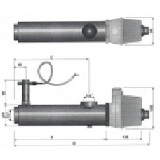 Нагреватель проточный, электрический, 3 кВт, арт. 13981403
