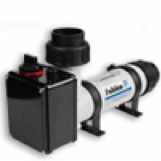 Нагреватель проточный, электрический, пластиковый 12 кВт, арт. 141603