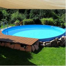 Каркасный круглый бассейн Summer Fun  ( 4,20 х 1,50) /4501010139KB