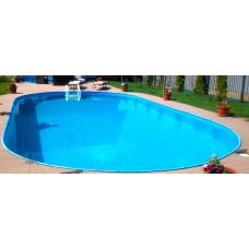 Сборный бассейн овальный Summer Fun  ( 8,00 х 4,20 х1,20) /4501010244KB