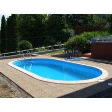 Сборный бассейн овальный Summer Fun  ( 9,16 х 4,60 х1,20) /4501010247KB