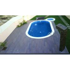 Каркасный бассейн овальный Summer Fun  ( 8,00 х 4,00 х1,50) /4501010249KB