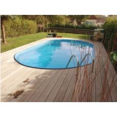 Каркасный бассейн овальный Summer Fun  ( 6,23 х 3,60 х1,50) /4501010258KB