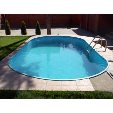 Каркасный бассейн овальный Summer Fun  ( 8,00 х 4,20х1,50) /4501010249KB