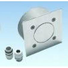 Соединительная коробка квадратная AT07.02 из нержавеющей стали
