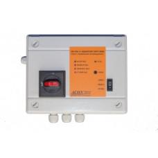 Панель  управления аттракционами до 5,5кВт,от сенсорной панели(в комплекте), плавн. пуск, 380В, ACON