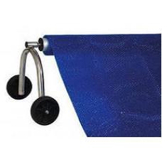 Сматывающее устройство для бассейна с колесной опорой 2,5 м - 4,5 м (комплект)