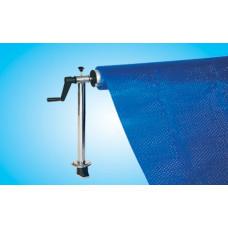 Сматывающее устройство для бассейна с анкерной опорой 2,5 м - 4,5 м (комплект)