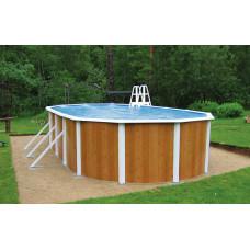 Бассейн Atlantic pool овальный Esprit-Big размер 5,5х3,7х1,35 м