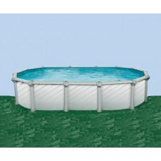 Каркасный бассейн Atlantic pool овальный J-4000 Гибралтар размер 5.5х3.7х1.35 м