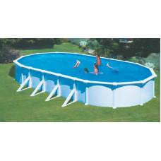 Каркасный бассейн Atlantic pool овальный J-4000 Гибралтар размер 10.0х5.5х1.35 м