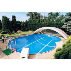Каркасный бассейн в форме восьмерки Summer Fun  ( 7,25 х 4,60 х 1,20) /4501010515KB