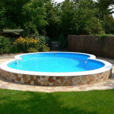 Каркасный бассейн в форме восьмерки Summer Fun  ( 6,25 х 3,60 х 1,20) /4501010513KB