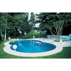 Сборный бассейн в форме восьмерки Summer Fun  ( 8,55 х 5,00 х 1,50) /4501010519KB