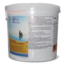 Многофункциональные 3 в 1 медленнорастворимые стаб. таблетки хлора 80%,  200гр., 10 кг /0507010