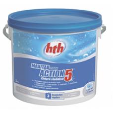 Многофункциональные таблетки стабилизированного хлора 5 в 1, 200 гр. 5 кг (4 шт. в упаковке) K801757H2