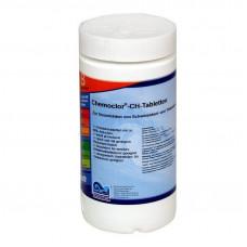 Кемохлор-СН быстрорастворимый гипохлорит кальция (хлор 70% ) в таблетках 20гр.,  1 кг /0402001