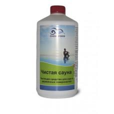 Чистая сауна жидкое средство с акт. кислородом для деревянных поверхностей  1л  Cemoform /1415001