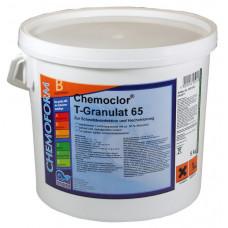 Кемохлор Т-65 быстрорастворимый стабилизированный хлор 56% в гранулах,  5 кг /0501005