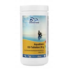 Аквабланк активный кислород в таблетках 20гр.   1кг /0595001