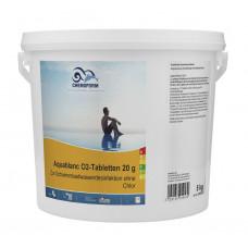 Аквабланк активный кислород в таблетках 20гр.   5кг /0595005