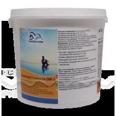 Кемоформ-Т медленнорастворимый стабилизированный хлор 90% в таблетках 200гр.,  5 кг /0505005
